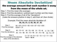 Mean Absolute Deviation Worksheet Free Worksheets Library ...