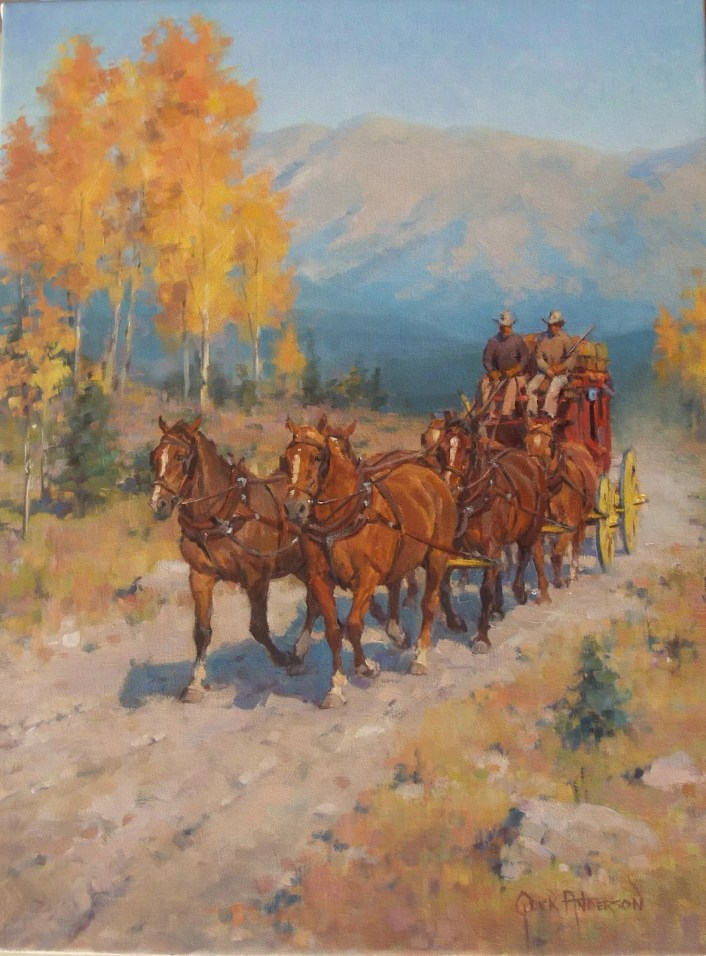 Autumn on the High Road - Quick Anderson