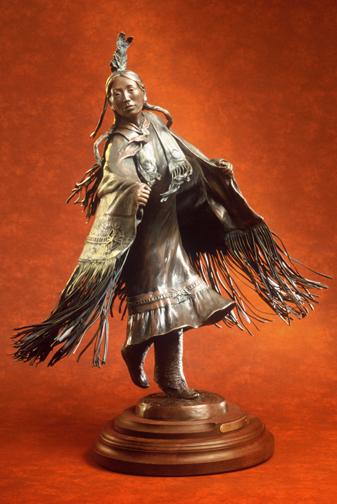 Fancy Shawl Dancer - Kliewer
