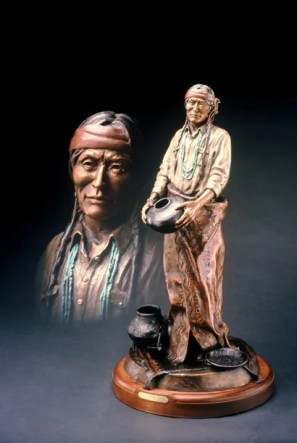 Julian - Kliewer Bronze Western Sculpture at Mountain Spirit Gallery in Prescott, Arizona