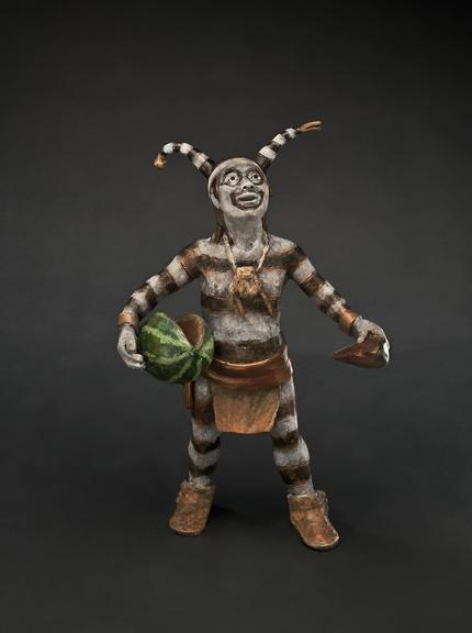 Watermelon Man - Kliewer Kachina Bronze Sculpture at Mountain Spirit Gallery in Prescott, Arizona