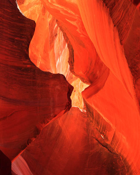 ANTELOPE CANYON PASSAGE OF TIME