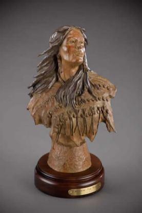 Cheyenne Elk Woman - Bill Nebeker