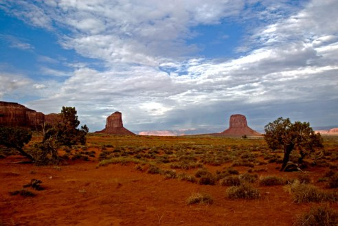 MONUMENT VALLEY SEARCHERS VIEW
