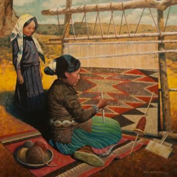 Navajo Weaver- Paul Wenzel