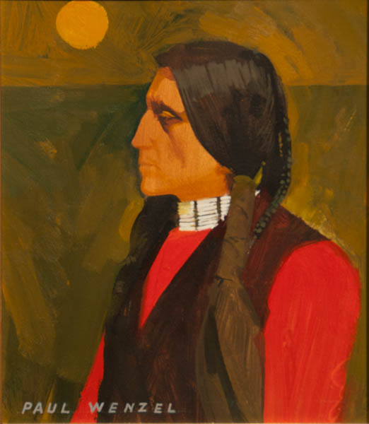 American Indian- Paul Wenzel