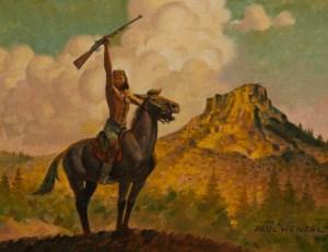 Thumb Butte 1875- Paul Wenzel