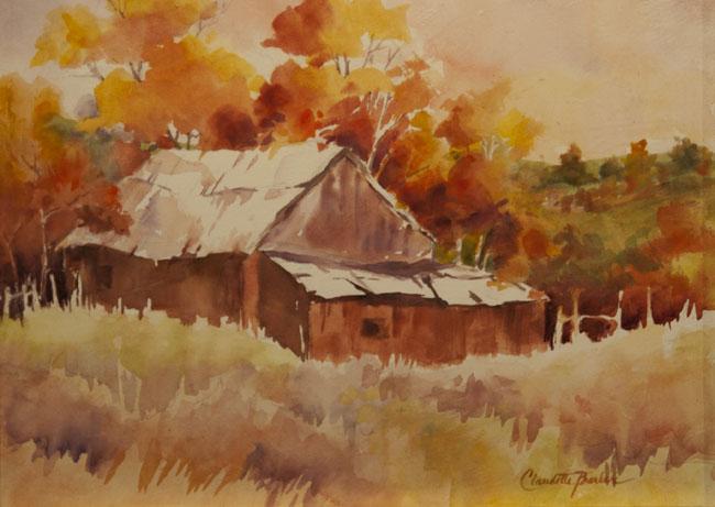 Seen Better Days - Watercolor 9X12 $450.00