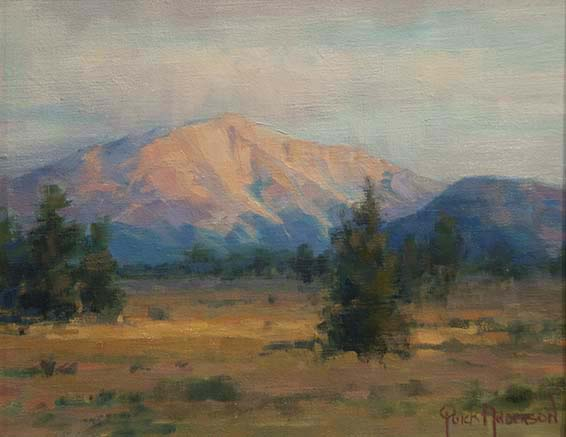 Mt. Sopris Oil 8X10 $500.00