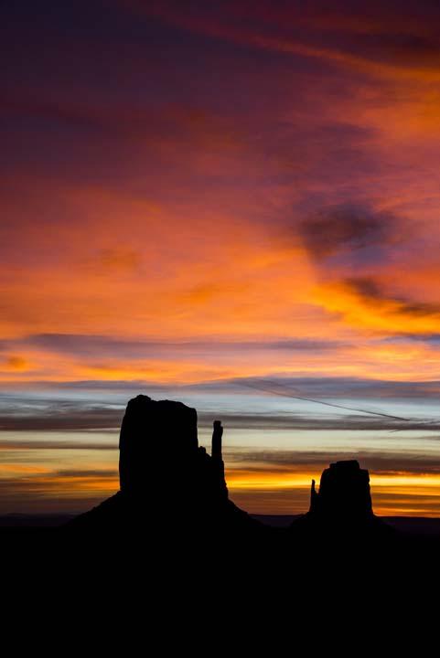 Sunrise Monument Valley 2015