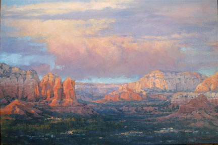Distant Light Oil 24X36 $3100.00