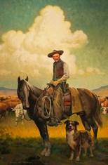 American Cowboy 24X36 Oil $4500.00 by Paul Wenzel