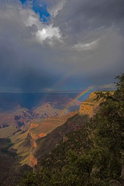 2016 Grand Canyon Double Rainbow