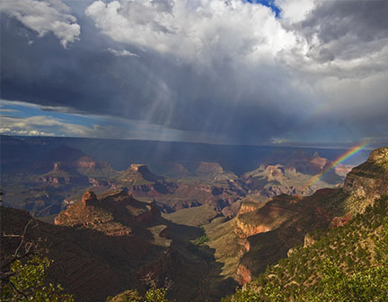 2016 Grand Canyon Rainbow