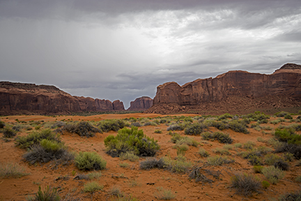 Monument Valley Dunes