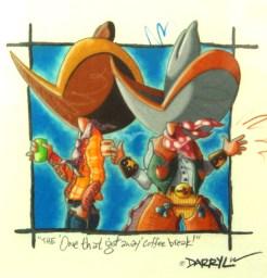 Darryl Willison Original Framed Color Pencil $200.00