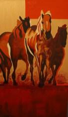 Treg Miller original acrylic painting $2100.00