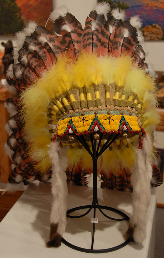 Headdress- Reproduction $1200.00