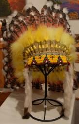 Headdress- Reproduction $1200.00