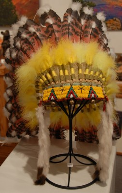 Headdress- Reproduction $1200.00 SALE $800.00