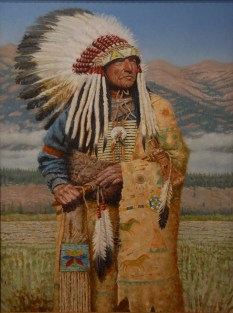 Stands Strong 30X40 Oil by Ron Lape $3600.00