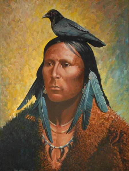 Crow 36X48 Oil $8500.00