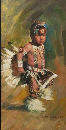 Little Dancer Oil 7X12 $900.00