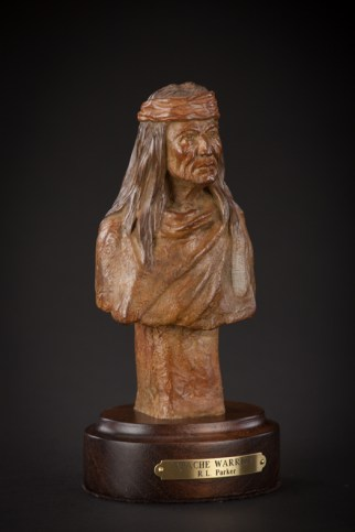 Apache Warrior - Bronze - 7.5x4x3 inches - $975.00