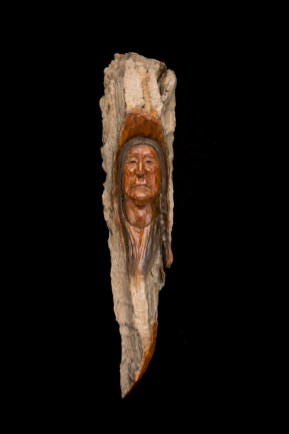 Crooked Knife - Bronze-18x4x3.5 inches - $1,875.00