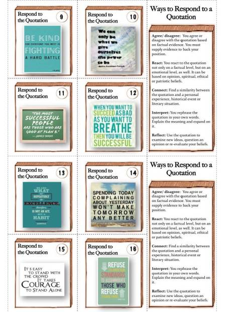 "Brand new ""Respone to Quotations"" tasks!"