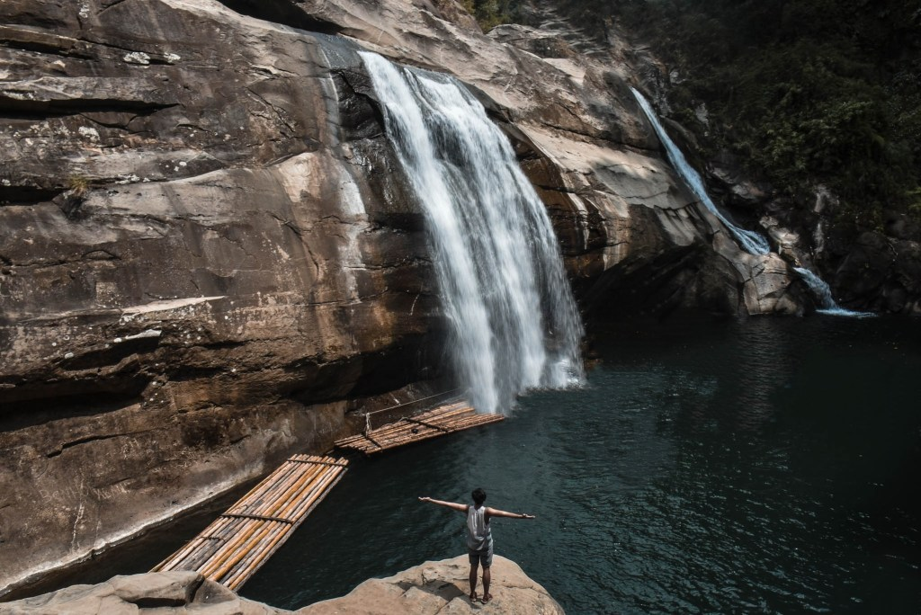 TANGADAN FALLS: Take a quick dip into the natural pool of Tangadan Falls