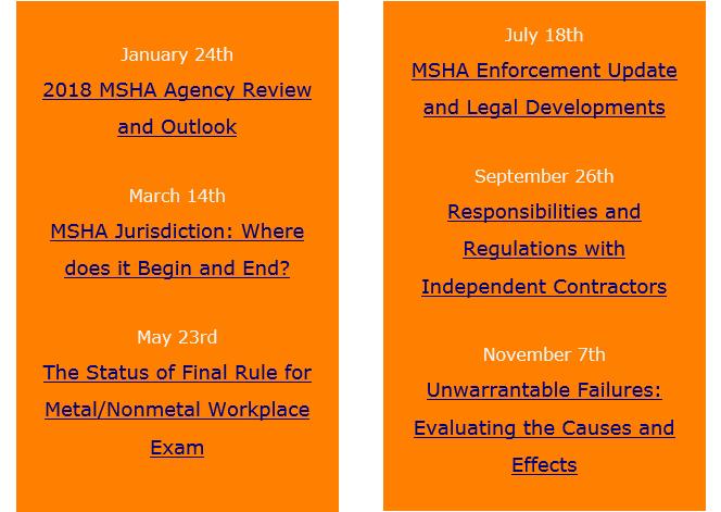 MSHA 2018 Webinar Schedule (002)