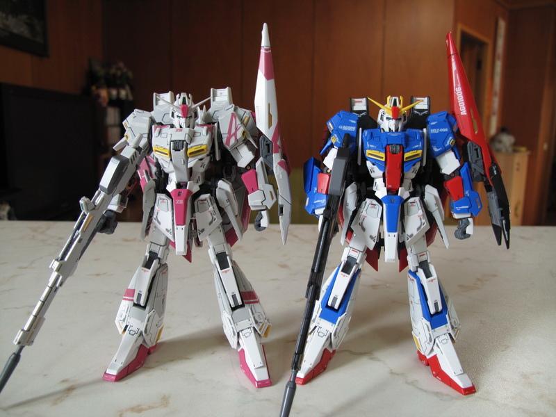 RG Z Gundam 3號機 – 一天到晚作模型的MS翰