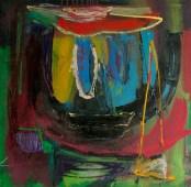 Maren Less, abstract oil