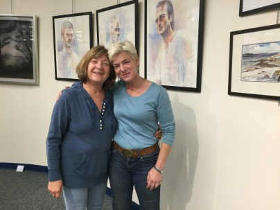 Memebers Kathi Hecht and Orna Greenberg