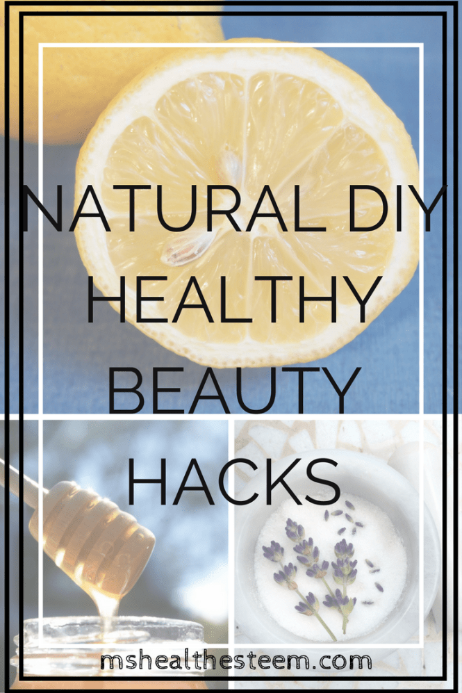 Natural DIY Healthy Beauty Hacks - Face Masks, Hair Masks, Makeup Remover, Sugar Scrub and Moisturizer
