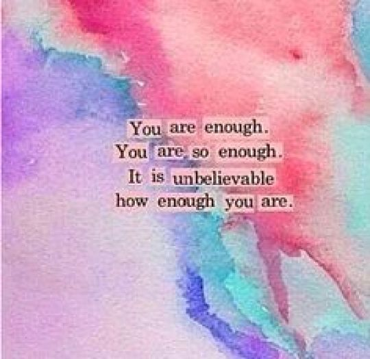My New Year Resolution - Why We Should Vow to Love and Accept Ourselves - You are enough