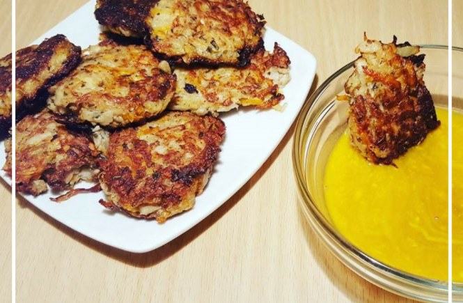 You'll love these amazing kohlrabi fritters! The perfect healthy, gluten free, vegetarian appetizer, side dish (or snack!)