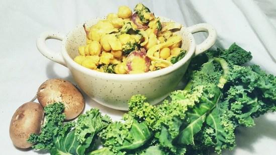 Vegan Cheesy Chickpea Recipe mshealthesteem.com