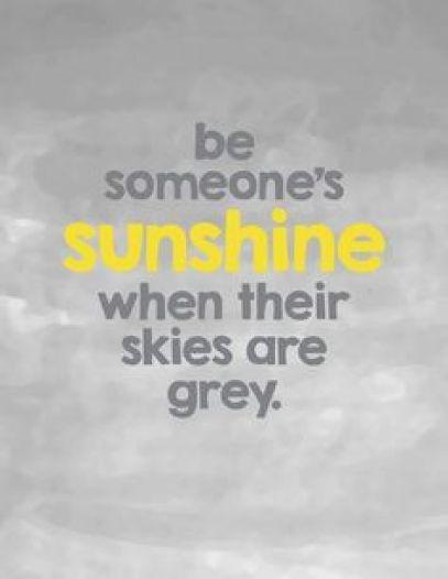 Monday Inspiration Board - Be Someone's Sunshine