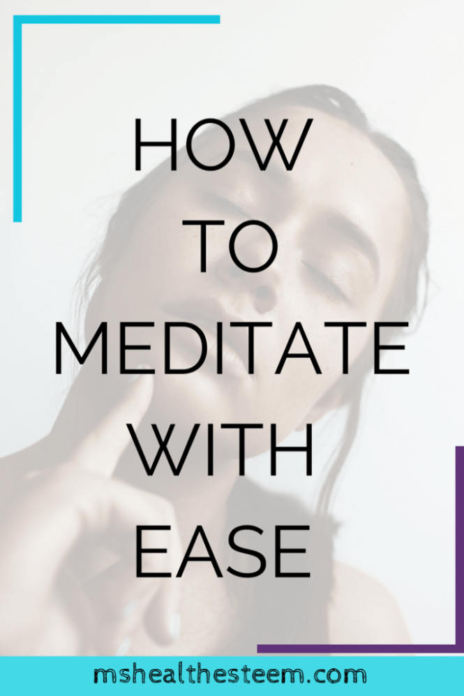 How to Meditate with Ease - Get Your Om on With These Awesome Tips | Jennifer of @helpmamameditate walks use through meditation for beginners and makes it super easy to start your own meditation self care practice (even if you have a busy schedule). Click through for the goodness. #meditation #mindfulnessmeditation #selfcare