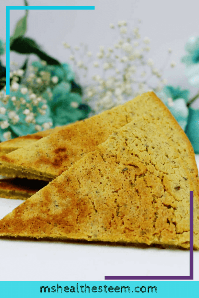 This Chickpea Flour Flatbread Recipe Will Blow Your Mind   A delicious vegan, gluten free healthy flatbread recipe that's super easy to make. Total win! Enjoy it solo or with hummus or olive oil. Perfect as a starter, appetizer or a wonderful healthy snack. Get ready for food heaven ;). Click through for the goodness: