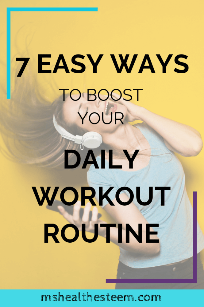 7 Easy Ways To Add On To Your Workout Routine | Struggling to fit an exercise routine into your busy schedule? Need some easy fitness ideas? I've got you covered! I invited a certified personal trainer and fitness instructor to chat with us this week about easy ways to be more active. Her realistic and totally simple answer might surprise you. Click through for the goodness. #exerciseroutine #selfcaretips #fitnessideas