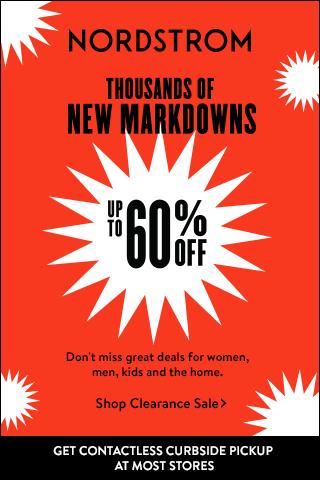 New Markdowns at Nordstroms
