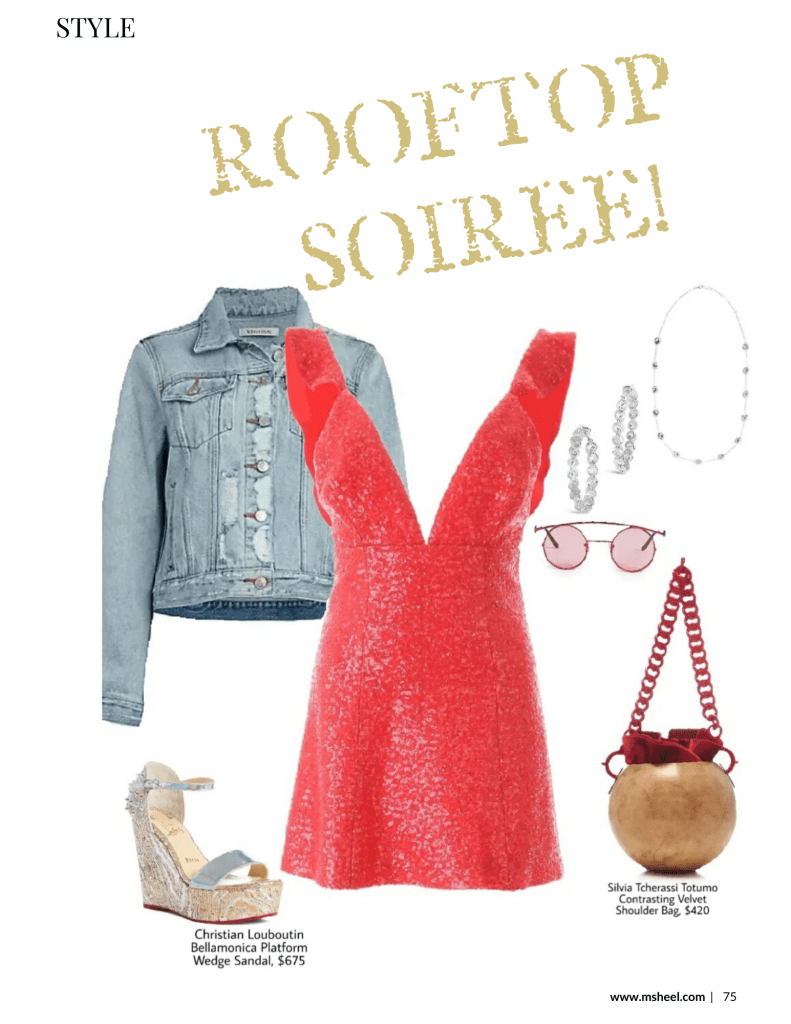 what to wear to a rooftop party