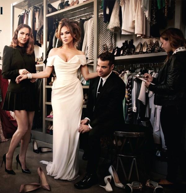 Hollywood Reprter Magazine stylists issue
