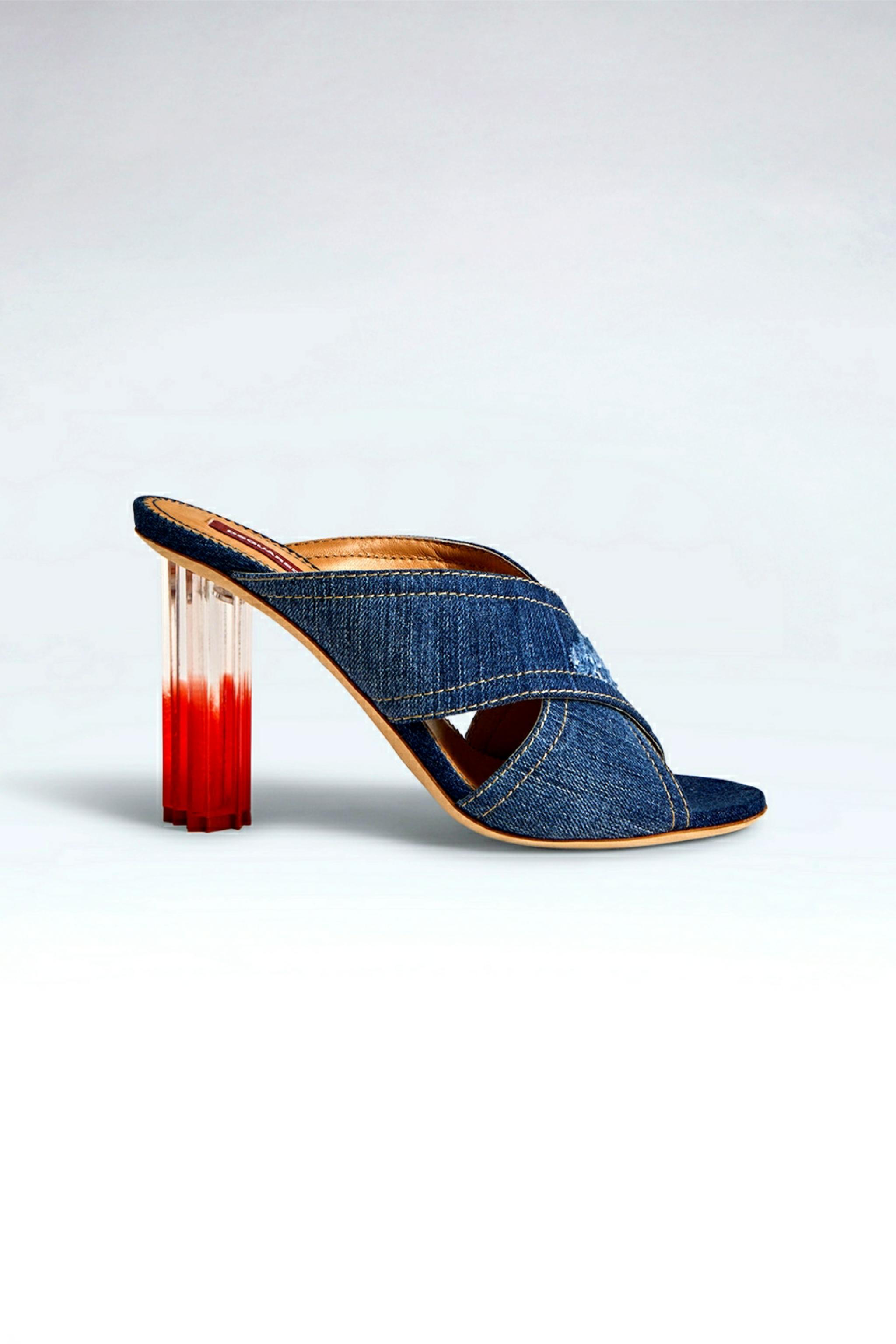 leaf heel by DSquared2