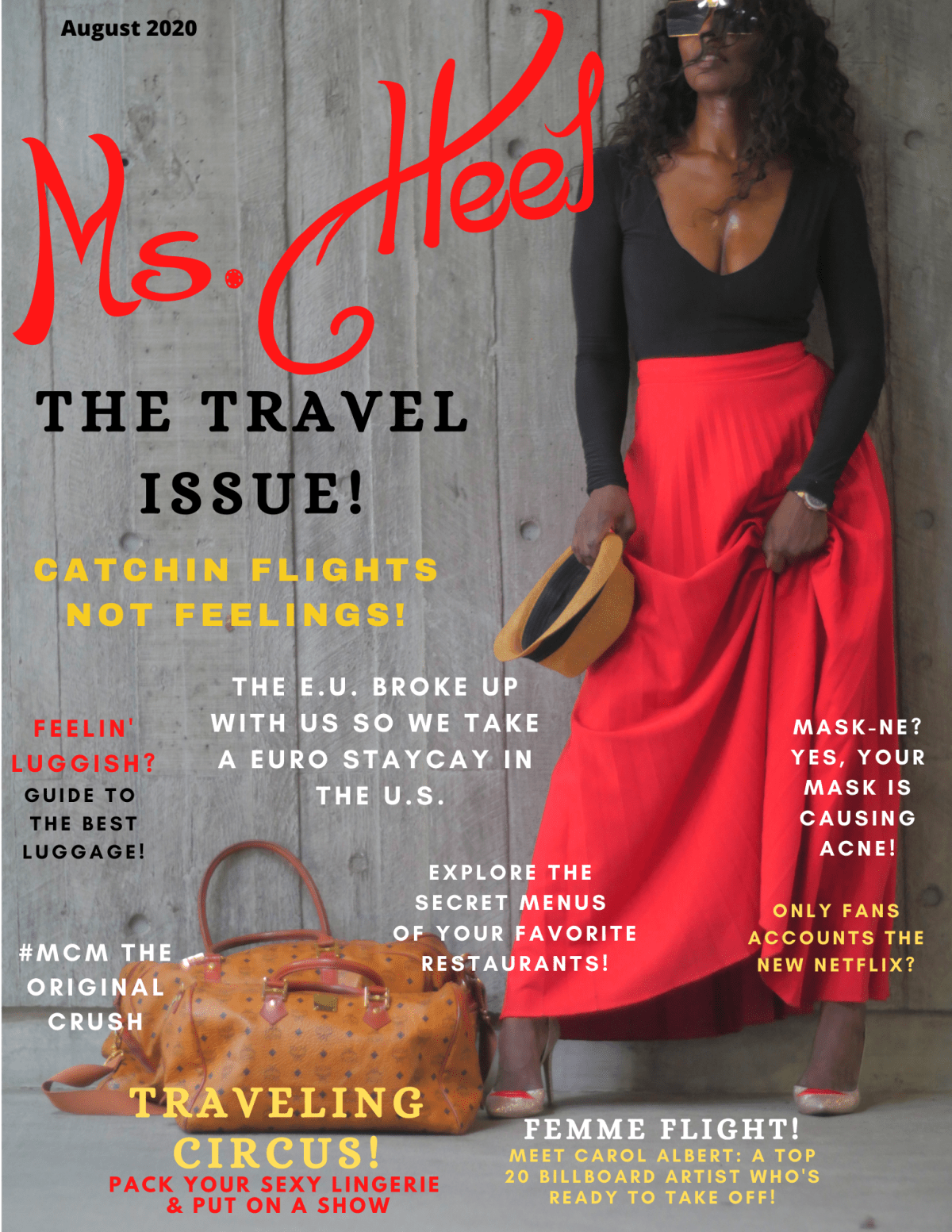 Ms. Heel Magazine..,the magazine all about high heels!