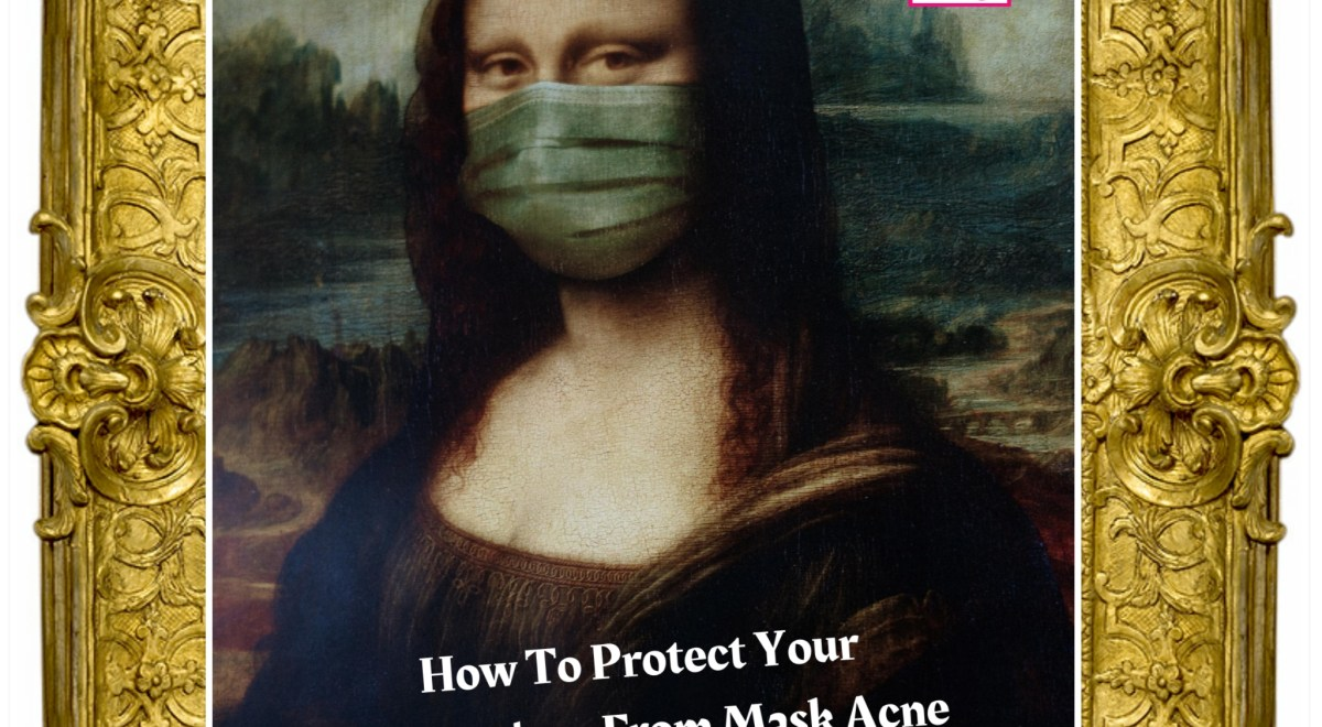 How to protect your face from acne while wearing a mask