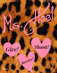 November 2020 issue of Ms. Heel Magazine...the magazine all about heels!